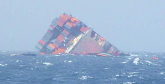 Cargo ship sank