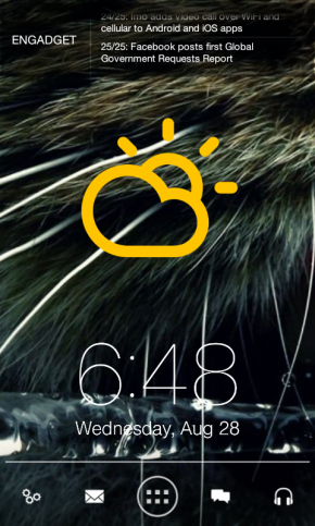 Android Homescreen: Catfur (August 2013)